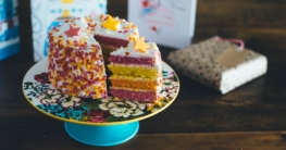 Selbstgemachter Kuchen eignet sich auch als Geschenk!